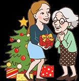 Cadeau de noël pour Grand-mère