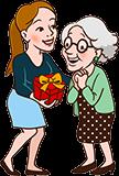 Cadeau pour Grand-mère