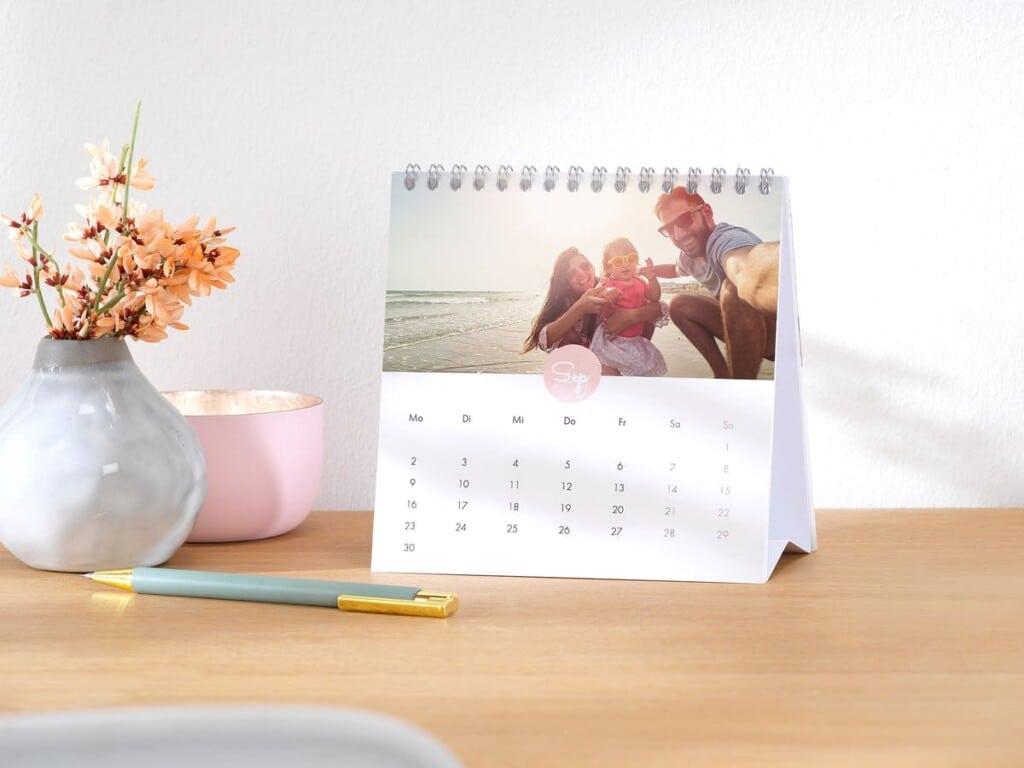 Calendrier photo - calendrier de bureau