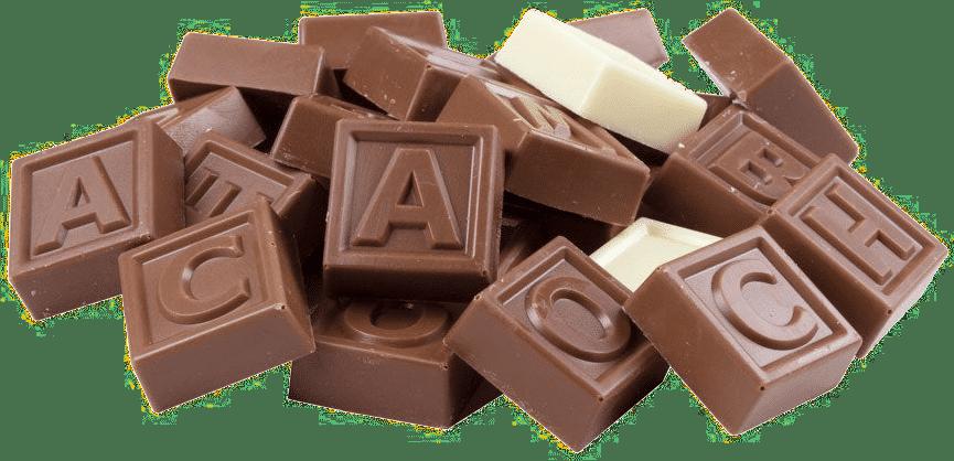 Télégramme en chocolat pour Grand-mère