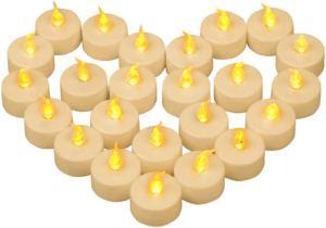 bougies chauffe-plat - cadeau pour mamie de 90 ans