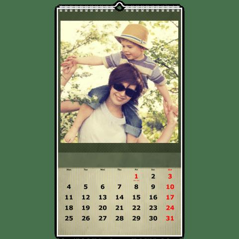 calendrier photo - cadeau Grand-mère