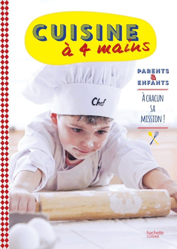 cuisiner avec des enfants - Cuisine à 4 mains