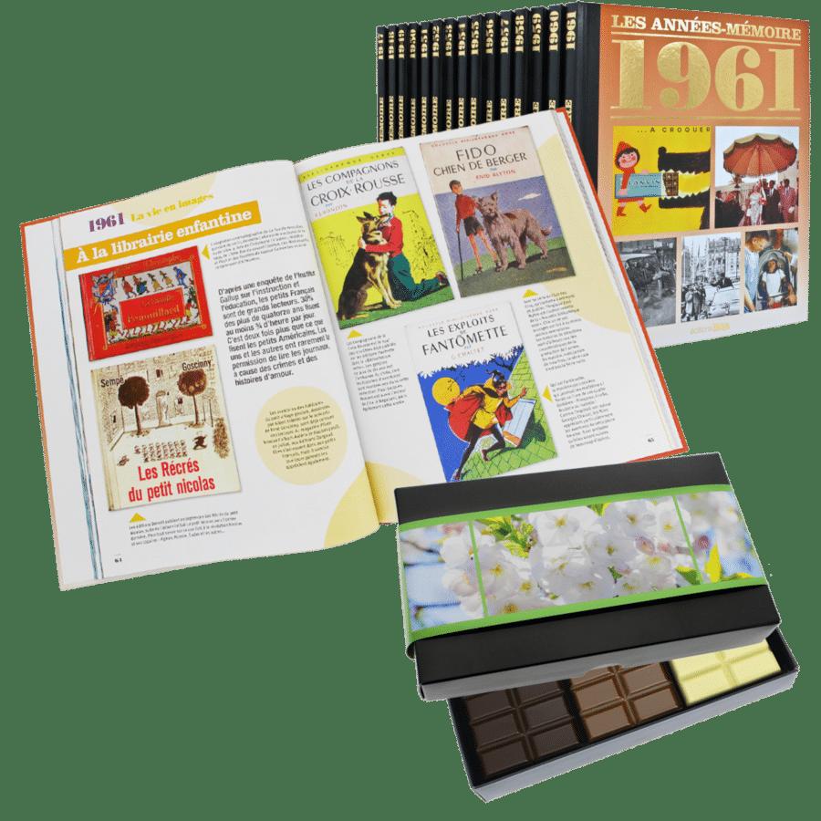 idée cadeau pour l'anniversaire de Grand-mère - livre nostalgique