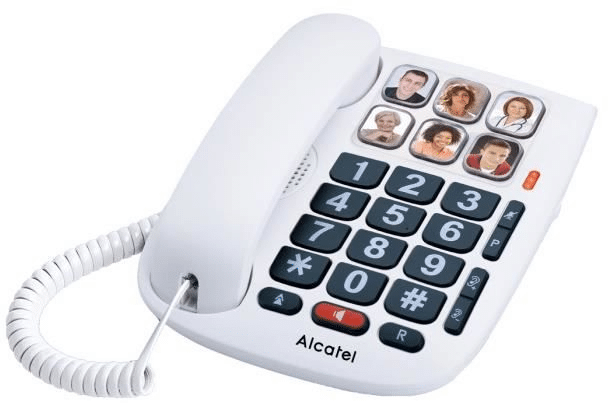 telephone filaire senior - telephone avec grosses touches