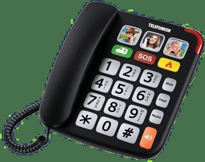telephone fixe senior - telephone grosses touches