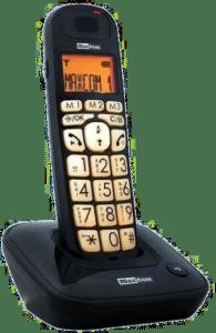 telephone sans fil senior - grosses touches