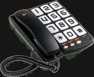 cadeau personnes âgées - Téléphone à touches géantes