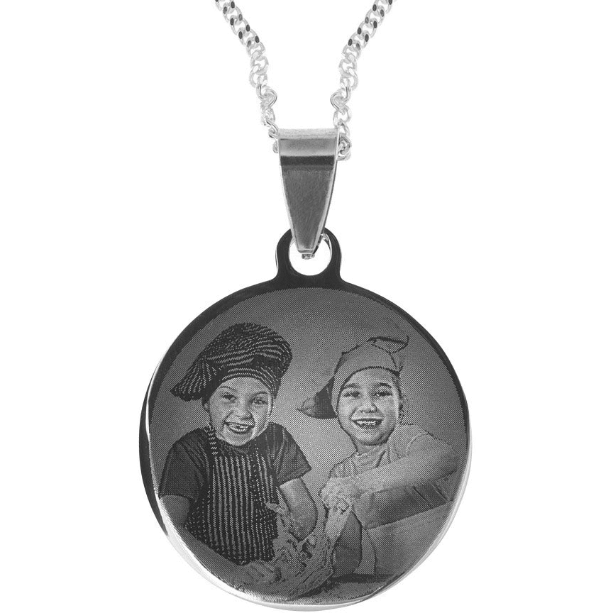 cadeau spécial pour Grand-mère-pendentif gravé