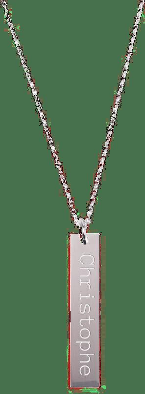 cadeau spécial pour Grand-mère - collier avec prénom gravé