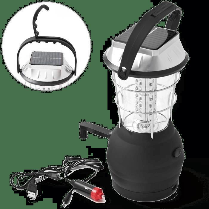 Lampe de camping rechargeable - cadeau pour un campeur