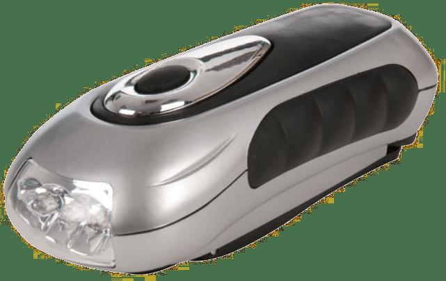 lampe de poche dynamo - Lampe-torche à manivelle