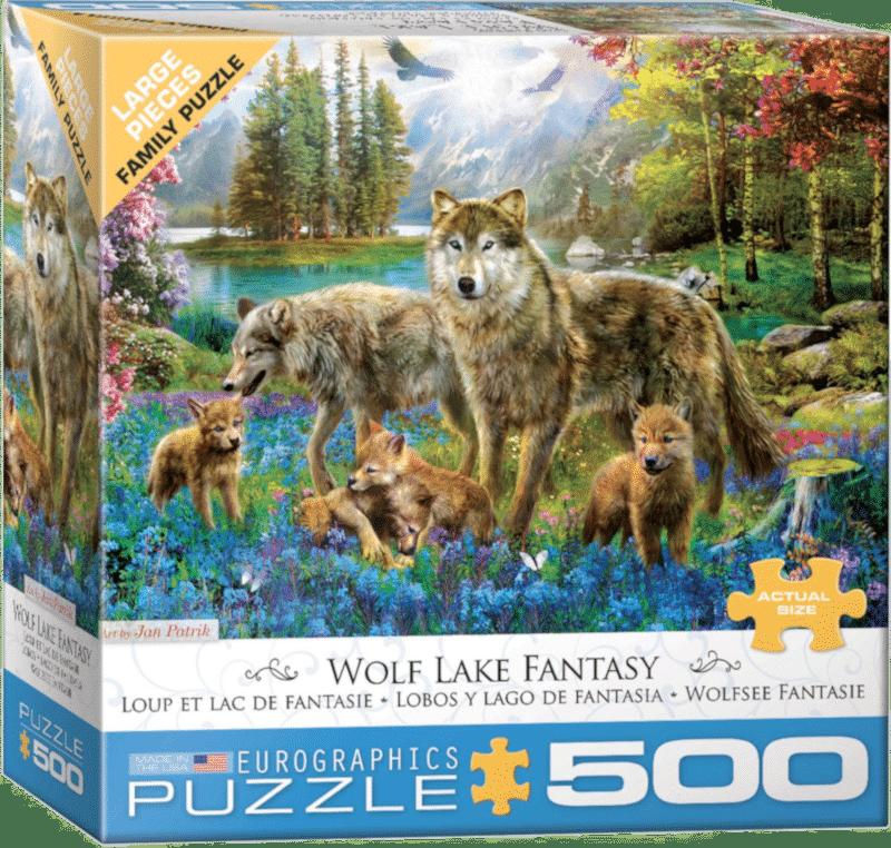 Puzzle pièces XXL - cadeau senior