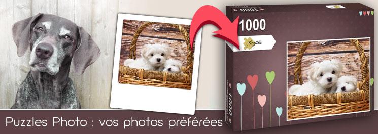 cadeau pour un amateur de puzzle - photo puzzle