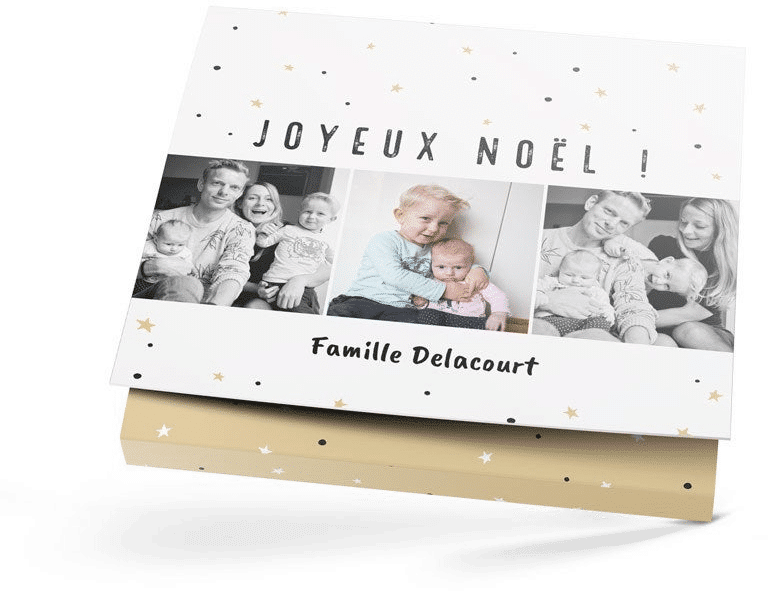 cadeau de Noël pour grands-parents - coffret chocolat