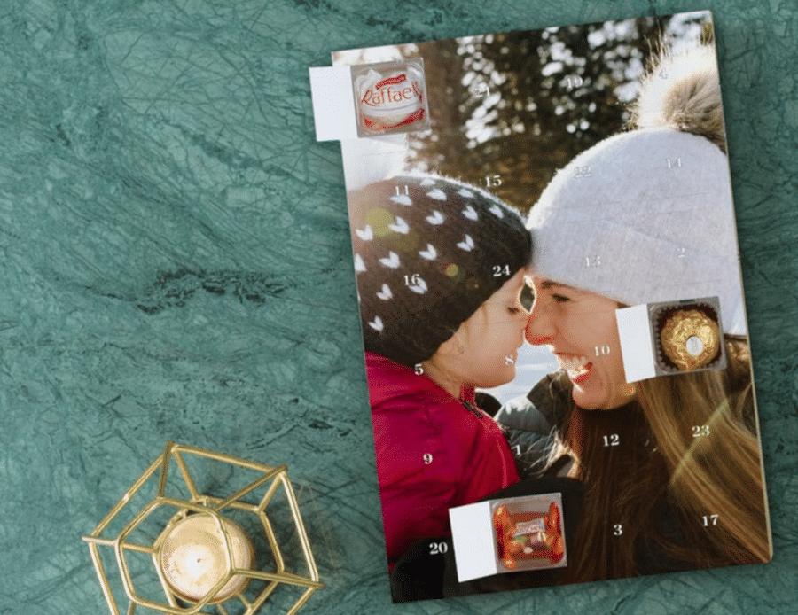 calendrier de l'Avent avec chocolat - cadeau mamie