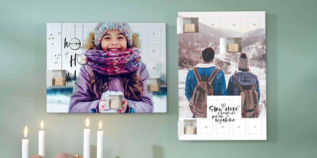 calendrier de l'Avent avec chocolat - cadeau pour grand-mère