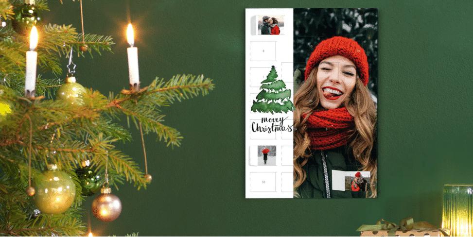 calendrier de l'Avent avec photos - cadeau grand-mère