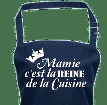 cadeau mamie cuisiniere - tablier mamie
