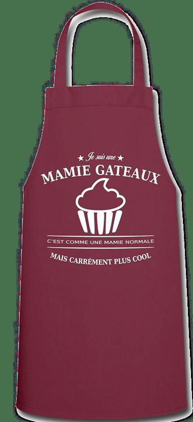 cadeau pour une mamie qui aime cuisiner - tablier mamie gateaux
