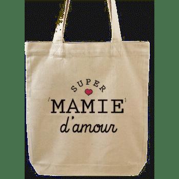 sac pour mamie - sac en coton