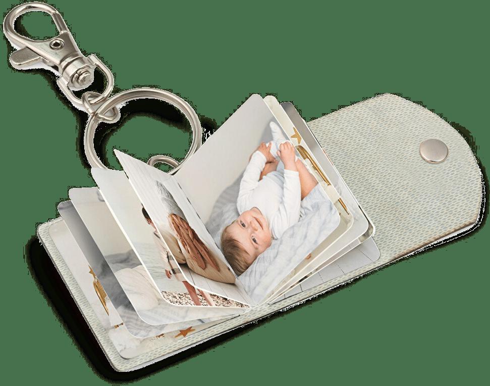 Porte-clés avec photos - petit cadeau