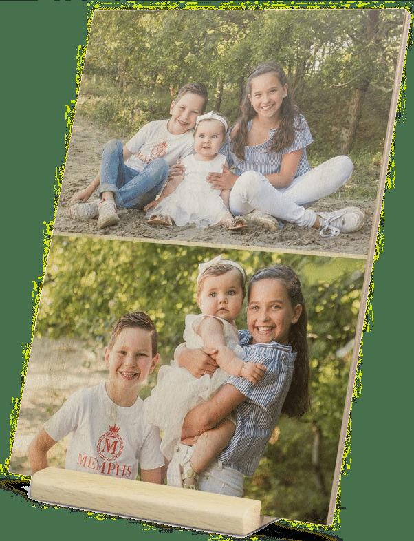 cadeau personnalisé pour Grand-mère - carte en bois