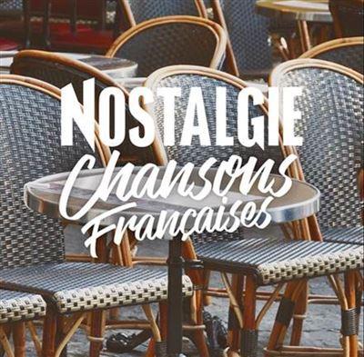 CD Chansons françaises - cadeau grands-parents