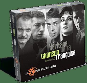 CD chansons françaises - Cadeau personne âgée
