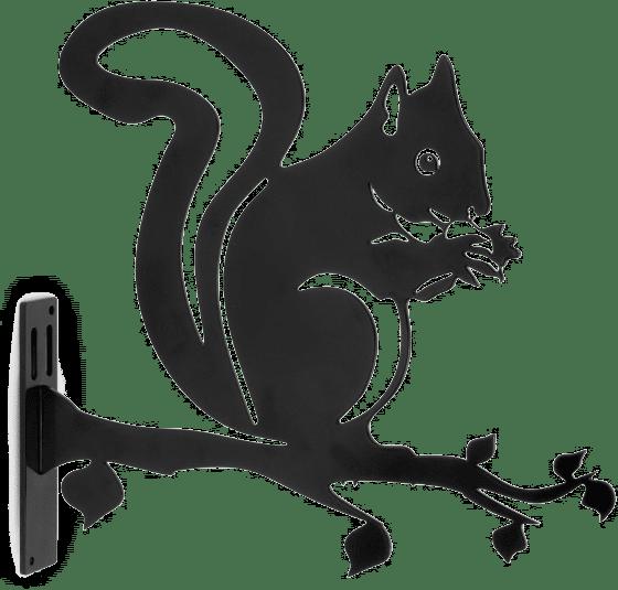 cadeau pour le jardin - silhouette en metal