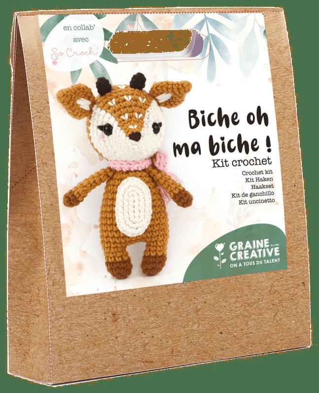 cadeau crocheter - kit crochet