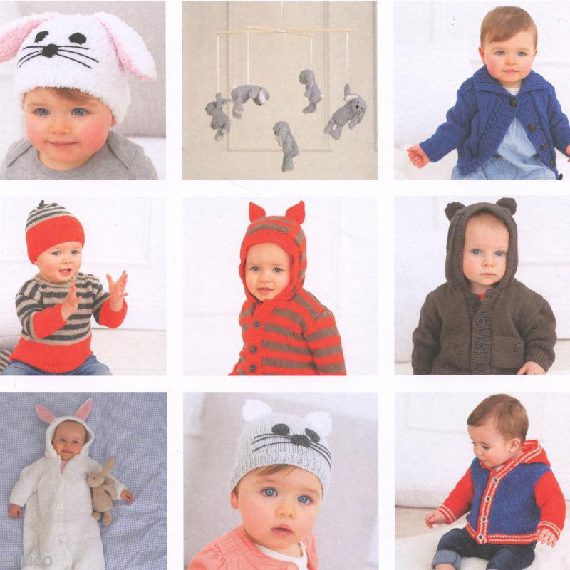 tricot catalogue bebe - cadeau mamie tricoteuse