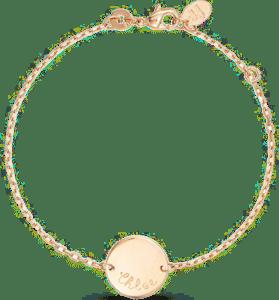 bracelet gravure - bijou pour grand-mère