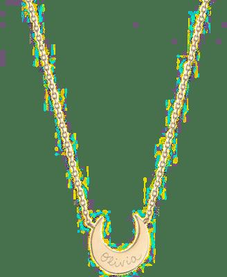 collier personnalisable-bijou pour grand-mère maman