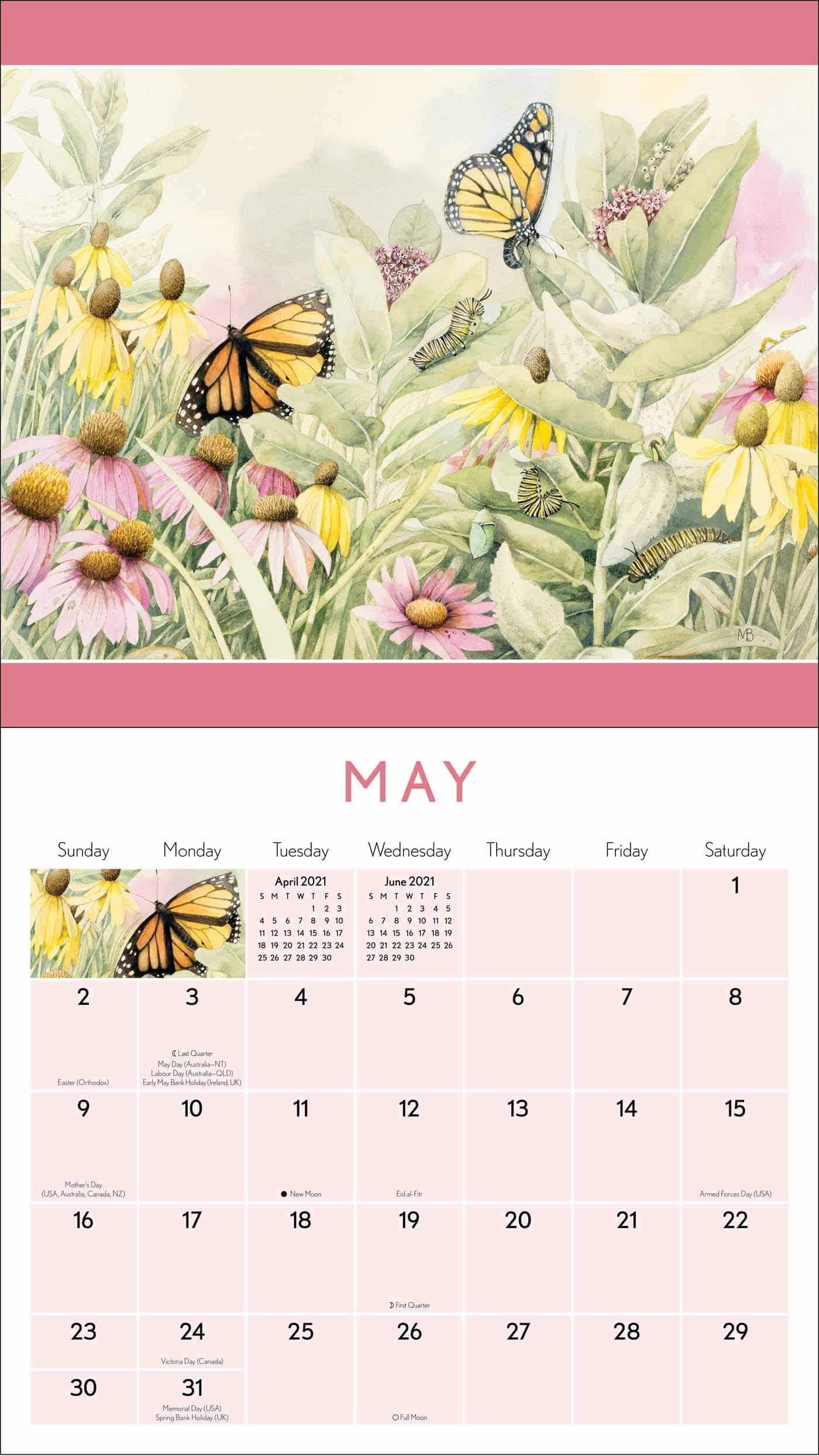 Marjolein Bastin - calendrier pour Grand-mère