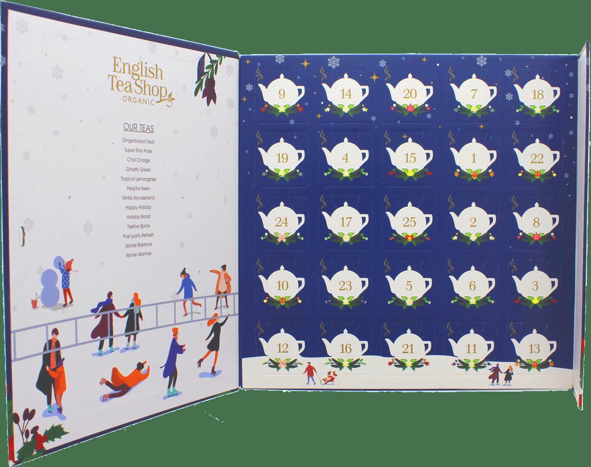 calendriers de l'avent pour des adultes - thé