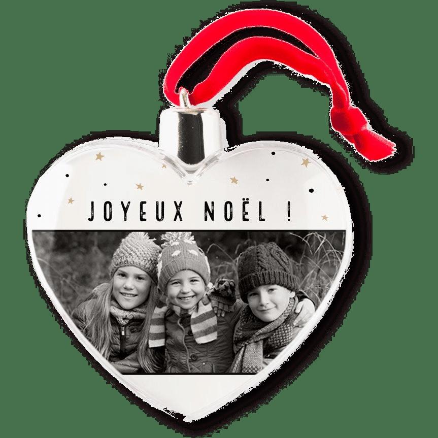 boules de Noël avec photo - Cadeau pour Grand-mère