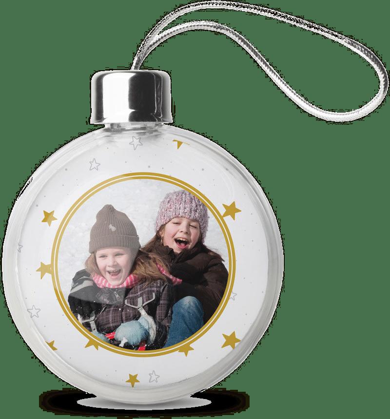 Boules de Noël avec photo