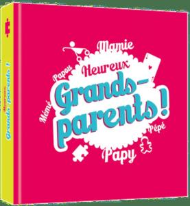 Idée cadeau pour annoncer votre grossesse - livre rigolo grands-parents