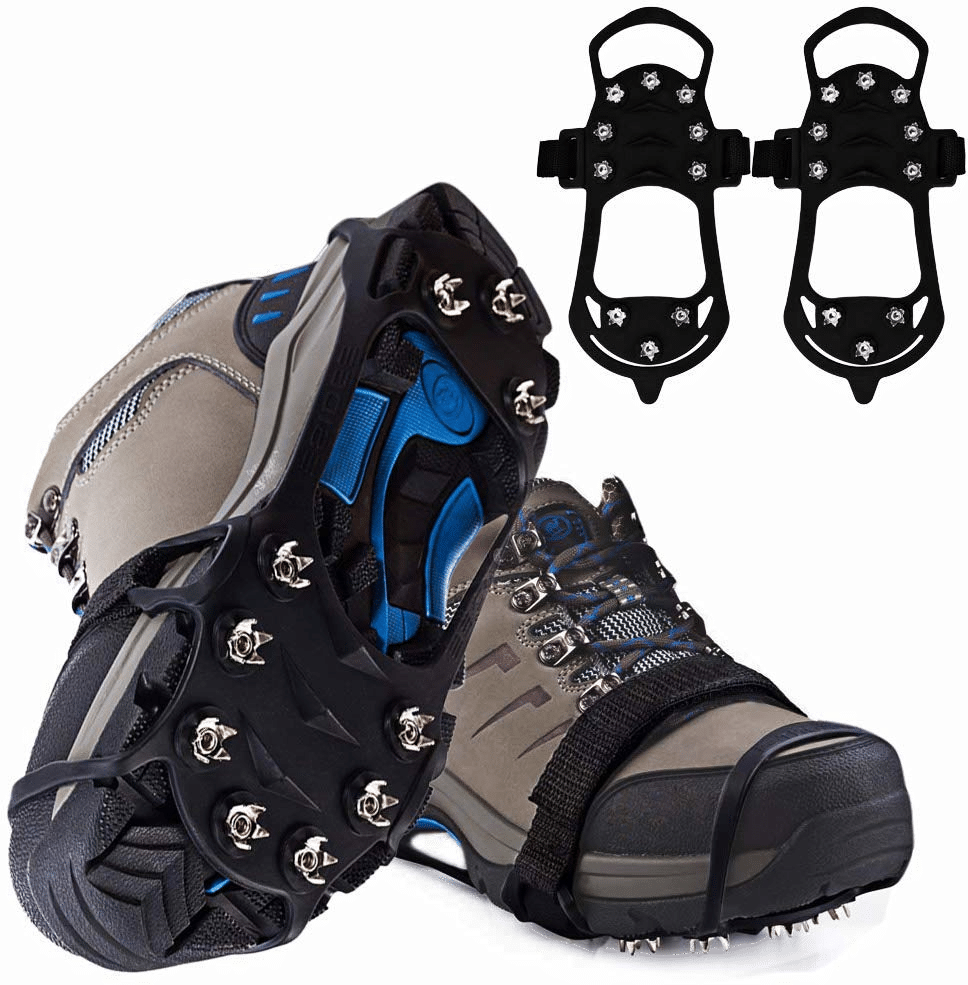 chaussures antiglisse pour neige ou verglas