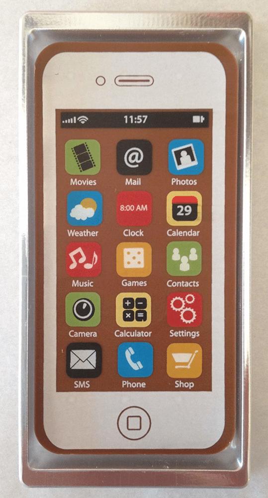 telephone portable en chocolat - cadeau rigolo pour mamie