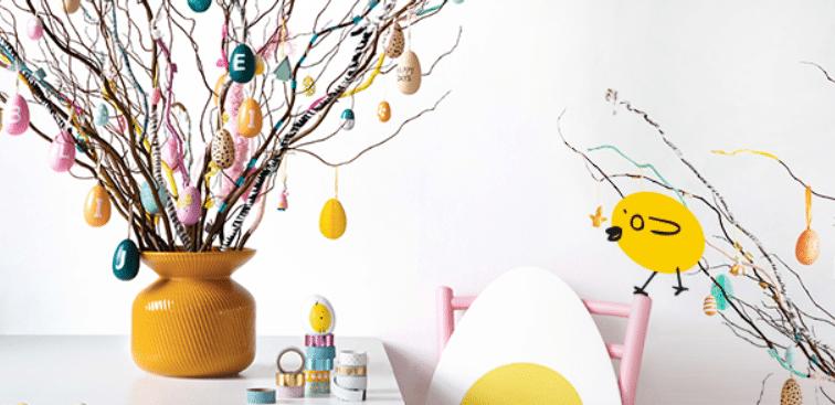 Décoration Pâques abordable - cadeau pour mamie