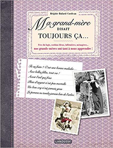 cadeau pour une grand-mère de 90 ans - livre nostalgique expressions d'autrefois