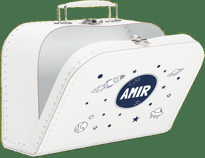 cadeau petit-enfant - valise avec nom