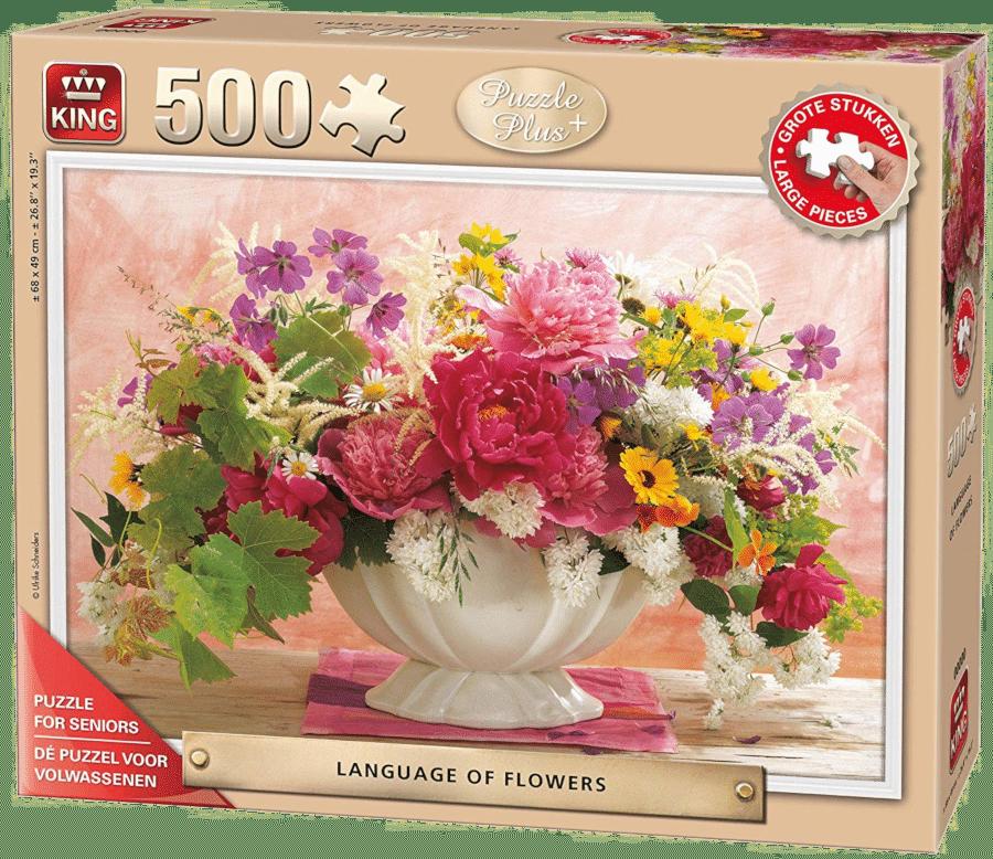 cadeau pour une personne âgée - pièces de puzzle extra-large