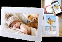 Cadeau pour l'anniversaire de grand-mère - cadre photo wifi