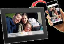 cadeau d'anniversaire pour mamie - cadre photo numérique wifi