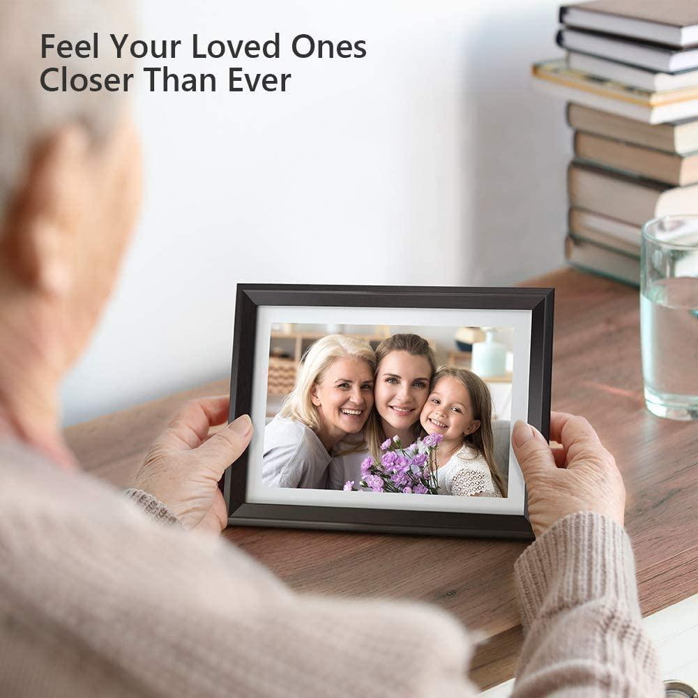 cadeau d'anniversaire pour grand-mère - cadre photo wifi