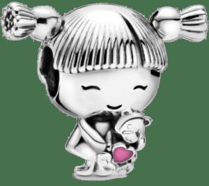 cadeau pour une grand-mère de 70 ans - Charm Pandora petite fille