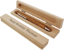 cadeau pour une femme de 70 ans - Stylo en bois gravé